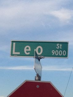 Yep there is an official street named after Leo(Leondre), from Bars and Melody!