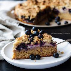 Blaubeer-Streuselkuchen