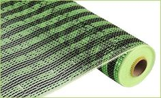 Black Lime Green Foil Stripe Poly Mesh Poly Mesh by wreathsbyrobin See more at: https://www.etsy.com/shop/wreathsbyrobin