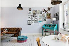 Vardagsrum - Hornstull. living room