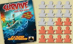 Survive: Escape From Atlantis! 5-6 Player Mini Expansion (30th Anniversary Edition)