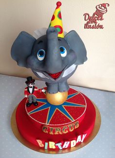 Circus Birthday cake, dulces con ilusión