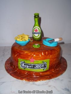 Torta Heineken