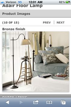 Adair floor lamp potterybarn great for next to my bedside so i can adair floor lamp potterybarn great for next to my bedside so i can read living room lights pinterest floor lamp room lamp and lamp ideas aloadofball Gallery