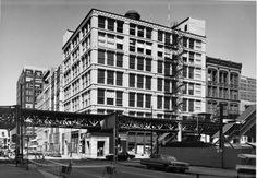 first leiter building chicago 1879. Baron Jenney