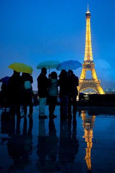 Paris In The Rain ... By Sherry Godsey Cates.. I never get tired of Paris pictures