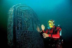 Top 8 des villes englouties, les ruines sous l'eau, c'est encore plus beau -Héracléion (Égypte)