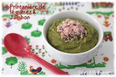 Printanniere de légumes jambon blanc (8 mois)