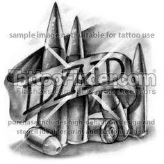 dad tattoo design by Hot Rodd