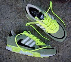"""competitive price c7425 3f1f0 adidas ZX 850 """"Olive  Electric Green"""" Green Sneakers, Adidas Sneakers,  Shoes"""