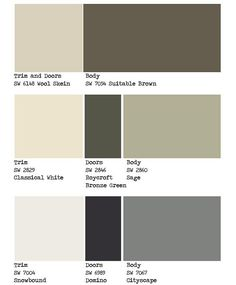 Exterior House Color Schemes modern exterior paint colors for houses | house colors, exterior