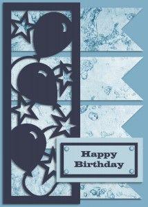 Krewella Kreations - Party Card Free Studio Datei