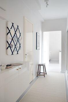 Elsa-matto valkoinen @charandthecity Elsa, Gallery Wall, Carpet, Interior, Furniture, City, Home Decor, Decoration Home, Indoor
