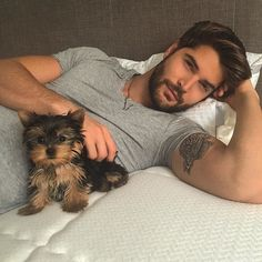 The puppy is so adorable!!! I want one so badly!  What the hell I will take both…