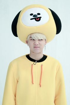 RUN BTS! 2018 - Epi.38 Behind the scene ★彡 Cute Yoongi as chimmy