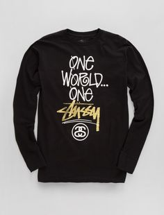 32b492af419 Men s New Arrivals. Graphic Sweatshirt. One Stussy L S Tee