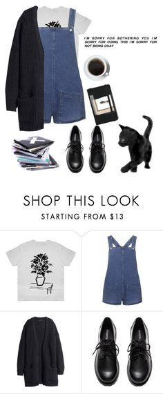 """Untitled #24"" by chillamlany on Polyvore featuring Topshop, Moleskine and H&M"