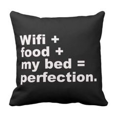 Shop Perfection Pillow created by maripillows. Cute Room Ideas, Cute Room Decor, Teen Room Decor, Room Ideas Bedroom, Bedroom Decor, Bedroom Designs, Funny Throw Pillows, Cute Pillows, Teen Girl Bedrooms