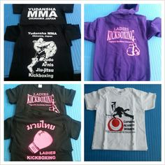 Capoeira, Ladies Kickboxing and Yudansha MMA clothing has arrived. Get em while they are hot.
