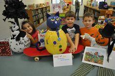 CES Book Character Pumpkins