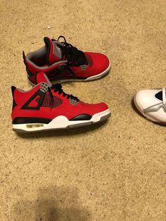 8747a197b7ee Nike air jordan 4 retro toro bravo  fashion  clothing  shoes  accessories