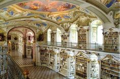 Admont Abbey Library in Admont, Austria   16 Libraries You Have To See Before You Die