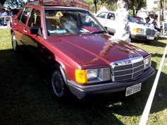 Mercedes Benz 190E W201 1986 (US)