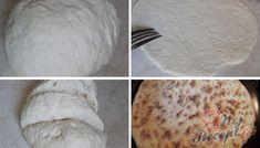 Turecké placky měkké několik dní | NejRecept.cz Kefir, Food And Drink, Appetizers, Low Carb, Yummy Food, Bread, Bread Baking, Cooking, Meat