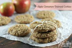 Apple Cinnamon Oatmeal Cookies   KITCHEN TESTED