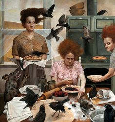 "Magic Realism Painter Andrea Kowch: Interviewed in Combustus magazine ""What the Wind Blew"" http://www.combustus.com/13/magic-realism-painter-andrea-kowch-what-the-wind-blew/"