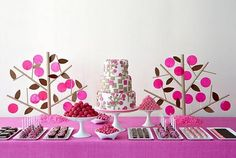 Makes me wish I had a little girl to throw a birthday party for. :)