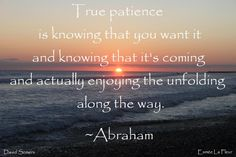 Abraham-Hicks Quote  When God provides, he provides.  Who are we to think we know better?