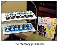 Book Themed Baby Shower Menu | book themed baby shower. Looove this! It's a perfect way to start your ...