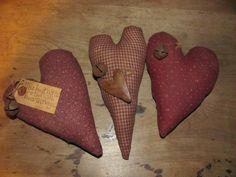 Primitive Valentine Crafts   Primitive Crafts   Yester Year Primitives