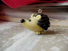 hedgehog or porcupine  fimo sculpey polymer clay