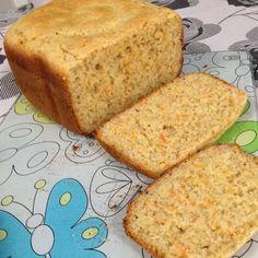 Aprenda a preparar a receita de Pão sem glúten com cenoura e cebola na máquina de pão