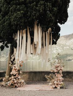 mono-floral Wedding ceremony installation of peach and blush roses- monofloral w. mono-floral Wedding ceremony installation of peach and blush roses- monofloral wedding inspiration Romantic Wedding Decor, Wedding Altars, Elegant Wedding, Romantic Wedding Inspiration, Romantic Flowers, Green Wedding, Floral Wedding, Wedding Colors, Wedding Day