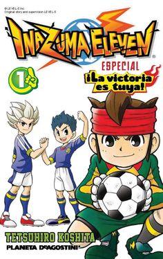 Inazuma Eleven especial  : ¡la victoria es tuya! 1. Tetsuhiro Koshita. Octubre 2014