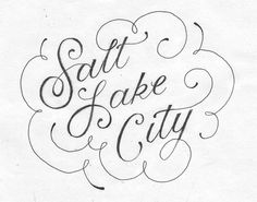 CITY LETTERING - Becca Clason - Hand-Lettering and Illustration