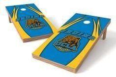 UCLA Bruins Single Cornhole Board - The Edge