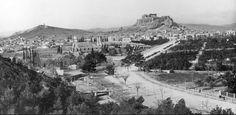 1898 Αγνώστου Φωτογράφου Bauhaus, Old Pictures, Old Photos, Acropolis, Athens Greece, Old City, Paris Skyline, The Neighbourhood, The Past