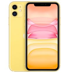 Apple iPhone 11 with FaceTime - LTE, Yellow - International Version Apple Iphone, Bluetooth, Dolby Digital, Ultra Wide Angle Lens, Face Id, Unlocked Phones, Buy Apple, Display Resolution, Yellow