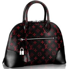 OMG, the latest from the house of #LouisVuitton! Louis Vuitton Alma Monogram Infrarouge