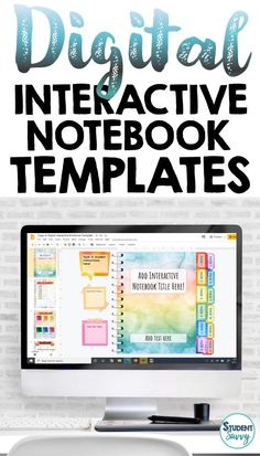 This resource provides EDITABLE Digital Interactive Notebook Templates that you can create for your students! Designed for Google Classroom and Google Slides.  Designed for ALL Subjects and ALL Grade Levels! EDITABLE Page Tabs, Table of Contents Template, Vocabulary Template, Timeline Template, Graphic Organizers, and more! Easy for teachers to edit and students to write in! Fun and colorful interactive notebook templates your students will LOVE! Social Studies Notebook, Teaching Social Studies, Teaching History, History Education, Student Teaching, Teaching Activities, Classroom Activities, Teaching Resources, Teaching Ideas