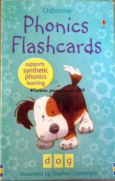 COPILĂRIE, JOACĂ ŞI BUCURIE: Phonics Flashcards (editura Usborne)