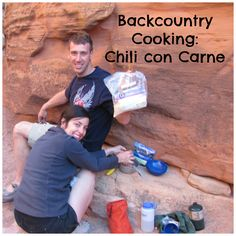 Backcountry Recipes: Chili con Carne.  A delicious dinner to enjoy on the trail. Click for the recipe!