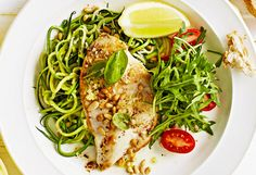 Chicken breast teams with zucchini 'noodles' in this hearty weekday recipe, courtesy of WW Freshbox