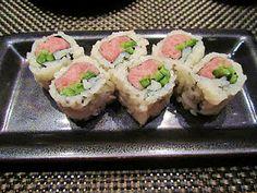 Maki de toro y jalapeños. Sushi Roku, Las Vegas