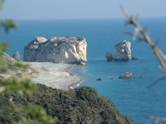 Petra Tou Romiou Beach. Been there and it was awesome.