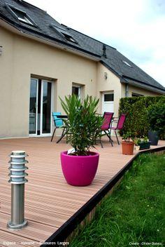 Terrasse bois composite Espace - Havane - Océwood®